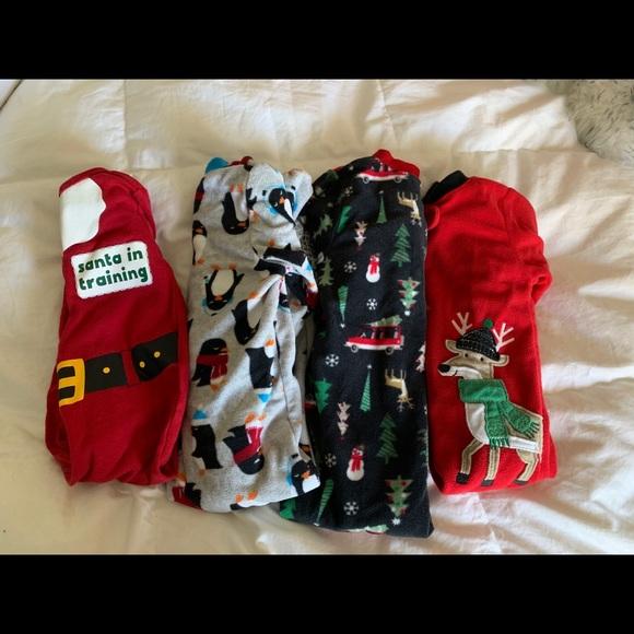 Christmas Pj.Christmas Pj Pajama 4 Lot